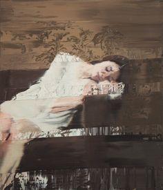 Andy Denzler, peintre et sculpteur suisse né à Zurich en 1965, réalise des peintures à l'huile à la fois séduisantes et intrigantes. Son style unique fusio