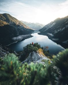 """""""Morning with a View"""" - Plansee, Austria Landscape Photography Tips, Nature Photography, Travel Photography, Places To Travel, Places To Go, Adventure Is Out There, Life Adventure, Adventure Travel, Nature"""
