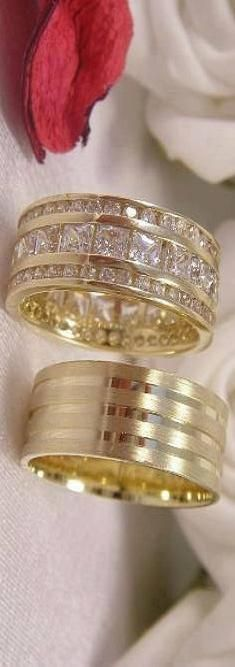 Gold bands