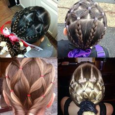 ♥ hair style for my little girl