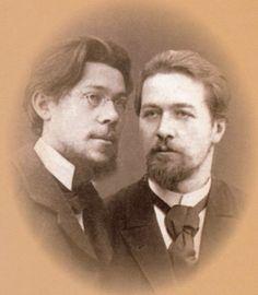 Александр Павлович Чехов, Антон Павлович Чехов.