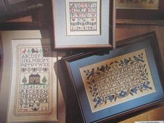See Sally Sew-Patterns For Less - Old Samplers Bluebirds Antique House Needlepoint Patterns, Sewing Patterns, Antique House, Bluebirds, Sally, Chart, Unisex, Antiques, Frame