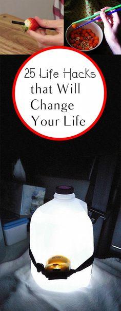 25 Life Hacks that Will Change Your Life.Tips, tricks, hacks, shopping hacks, money hacks, cleaning, life hacks, life tips.