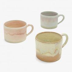 Christiane Perrochon Stone Tea Cups