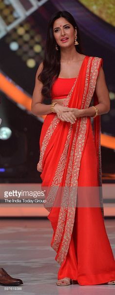 Katrina Kaif during the promotion of film Baar Baar Dekho on the sets of reality dance show Jhalak Dikhhla Jaa season 9 in Mumbai.