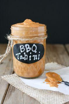 Barbecue Tahini Sauce - Veggies Don't Bite