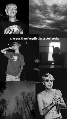 Lil Peep Live Forever, Lil Peep Tattoos, Lil Peep Lyrics, Whatsapp Logo, Rapper Wallpaper Iphone, Lil Peep Beamerboy, Lil Peep Hellboy, Badass Aesthetic, Blue Aesthetic