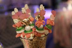 Rachel's Pastel Candybar Candy Kabobs, Pastel Candy, Bat Mitzvah, Cotton Candy, Fundraising, Party Favors, Catering, Sweets, Desserts