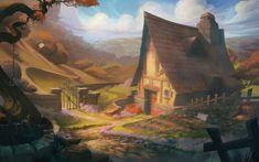 """The Cottage"" - Hamzah Kasom Osman for Big Fish Games - Drawn 3"