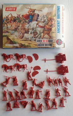 Vintage Toys 1970s, Vintage Games, Retro Toys, Childhood Toys, Childhood Memories, Britains Toys, Airfix Kits, Plastic Toy Soldiers, Army Guys