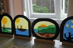 the elves and the wood botherer: Matariki Crafting - Workshop prep… Sand Crafts, Rock Crafts, Paper Crafts, Adult Crafts, Crafts For Kids, Primary School Art, Arts And Crafts Storage, Montessori Art, Nz Art