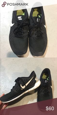 new arrival 8afe0 bf86f Nike running shoes Black gym shoes Nike Shoes Athletic Shoes