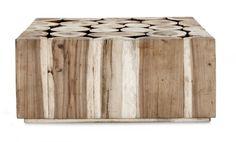 weylandt log coffee table