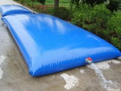 large TPU/PVC soft foldable water storage tank