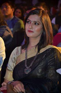Varalaxmi Sarathkumar Photos In Black Saree   Indian Filmy Actress
