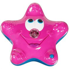 Bathtime fun starts with the Munchkin Star Fountain. This bath toy sprays water, has a blue spotlight, spins and floats.