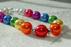 THE PROMISE  Bubblegum Beaded Necklace  by TickleMePinkCouture, $19.00