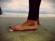 More Fabulous Pins: Small Tattoos: Feet Tattoos and Ankle Tattoos