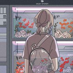 Anime Scenery Wallpaper, Cute Anime Wallpaper, Cute Cartoon Wallpapers, Animes Wallpapers, Arte Do Kawaii, Kawaii Art, Anime Kawaii, Images Aléatoires, Comics Vintage