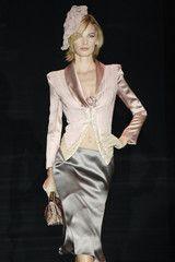 Armani Privé at Couture Fall 2005 - StyleBistro