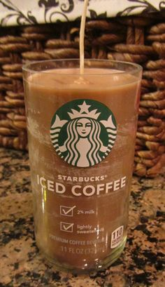 Starbucks Iced Coffee Candles Mocha Scented by CandlesByOC