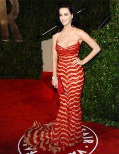 Katy Perry in Zuhair Murad at the 2010 Vanity Fair Oscar Party