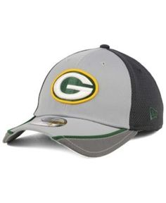 New Era Green Bay Packers Chase Gray Reflective 39THIRTY Cap - Gray M/L