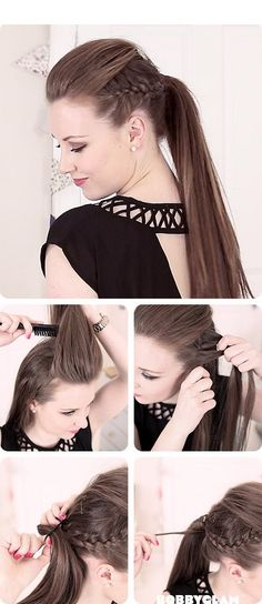 You can make these ponytails on your own in minutes which are perfect for all occasions. So, try this 10 different stylish and easy ponytail hairstyles.