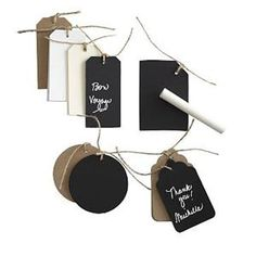 Chalkboard Gift Tags >> http://marketplace.diynetwork.com/styleboard/wishlistshow.aspx?wishlist=27528=EV_HOLIDAY_UNIQUE_GIFTS_MP=pinterest