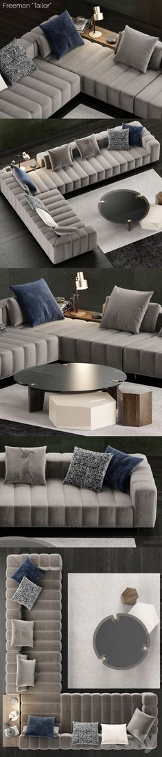 Floor Cushions Models and Living Room Decoration Designs – What Are They All About? Do you think the use of floor cushions models and living room decoration designs have vanished? Sofa Bed Design, Living Room Sofa Design, Living Room Decor Cozy, Bedroom Bed Design, Home Room Design, Living Room Designs, Danish Living Room, Living Room Modern, L Shaped Sofa Designs