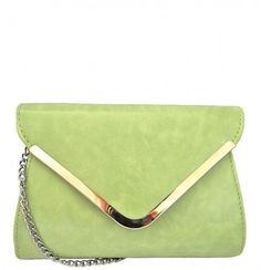 Mademoiselle is one of our most elegant and ladylike handbags. It comes in a #vintage #green color with #silver #flap edges and a silver-colored #crossbody chain to match. Handbag measurements are 8.5L x 2W x 6.5H.