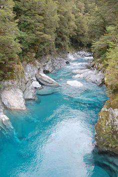 Blue Pools Track, Makarora River, New Zealand