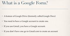 A Little Tech: Fun with Google Forms