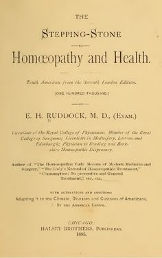 homoeopathy thesis