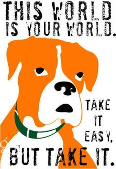 Boxer Dog Art Motivational Dog Print by GoingPlaces2 on Etsy, $14.00