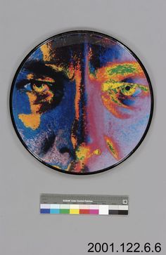 Neil Peart's exceptional musicianship and skill, as well as his lyrical composition, helped shape an entire generation of drummers and progressive rock musicians alike. The themes of science fiction and fantasy that Neil Peart explored in Rush's lyrics are exemplified by this last bass drum skin, a false colour face with a stern expression.