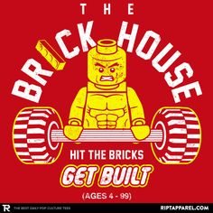 ''The Brickhouse'' by BiggStankDogg available today only, 1/07/16, at RIPT Apparel