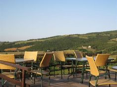 Ristorante Calagrana: Outdoor seating to enjoy the marvelous view
