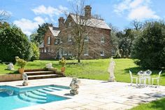 Detached family house. 19th century rectory. 6 bedrooms. Comes with 2 acres of grounds and a swimming pool. Located in The Old Rectory, Threxton. http://www.fineandcountry.co.uk