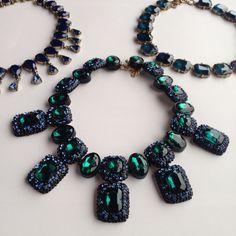 #necklace #green #tajboutique