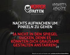KINDHEITSÄNGSTE 1 - Der Spiegel Was sind eure Kindheitsängste?  #horrorfakten #kindheitsängste #kindheitsangst