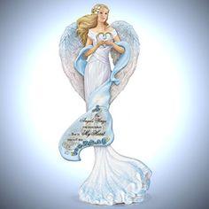 Thomas Kinkade Angel Paintings | Thomas Kinkade Religious Figurine: Guardian Of The Garden Of Prayer