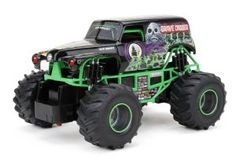 Bright 9 Battery Monster Jam Grave Digger RC Car 1 10 Scale Remote for sale online Monster Trucks, Monster Jam, Mens Toys Gadgets, Rc Remote, 1 10 Scale, Thing 1, Rc Trucks, Skylanders, Toys