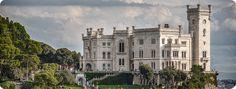 The castle of Miramare, near Trieste