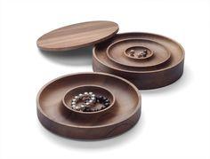 Wooden Jewel Box AC02 JEWEL by e15 | Design Saskia Diez @E15