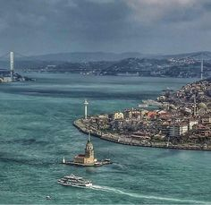 Bosphorus Bridge, Golden Horn, Visit Turkey, Istanbul City, Seaside Towns, Homeland, Mother Nature, Places To Visit, Europe