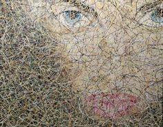 #abstract #artwork created by #artist #Glenn #Farquhar 150cm x 120cm #acrylic on canvas.