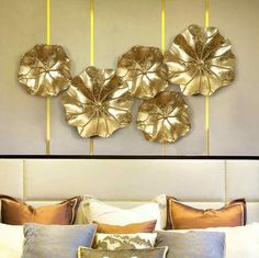 Modern Wrought Iron Lotus Leaf Wall Hanging Crafts Wall Decoration Livingroom Sofa Background Wall Sticker Mural Ornaments Art| | - AliExpress Cheap Wall Stickers, Wall Stickers Murals, Lotus Art, Wall Hanging Crafts, Lotus Leaves, 3d Wall Art, Wrought Iron, Art Projects, Wall Decor