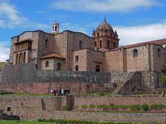 Qorikancha — the Inca Temple of the Sun — in Cusco