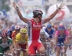 Mario Cipollini would win by such a large margin sometimes he'd check to see if anyone was still there.
